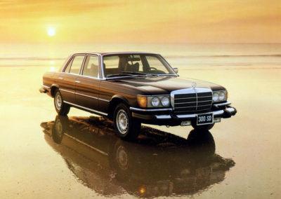 1978 Mercedes-Benz 300 SD S-Class Turbodiesel Exclusivité USA.