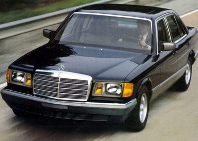 1980-1985 Mercedes-Benz 300 SD Turbodiessel Version USA.