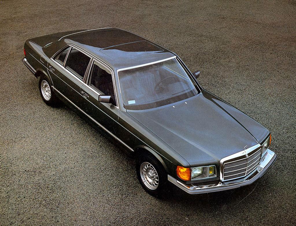 1982 Mercedes-Benz 380 SEL Version USA.
