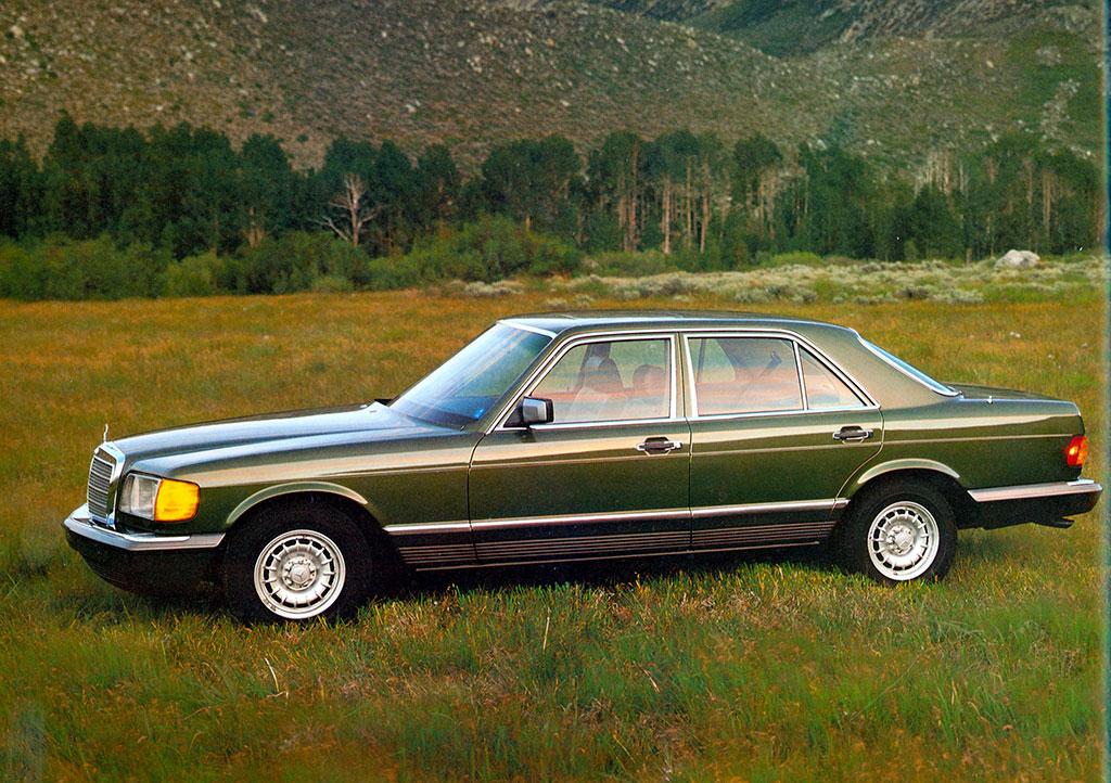 1989-1991 Mercedes-Benz 350 SDL Turbodiesel Version USA.