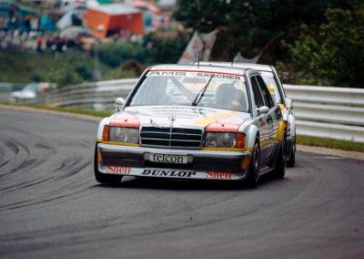 1990 Fritz Kreutzpointner second sur 2.5-16 EVO II DTM au 24 Heures du Nurburgring.