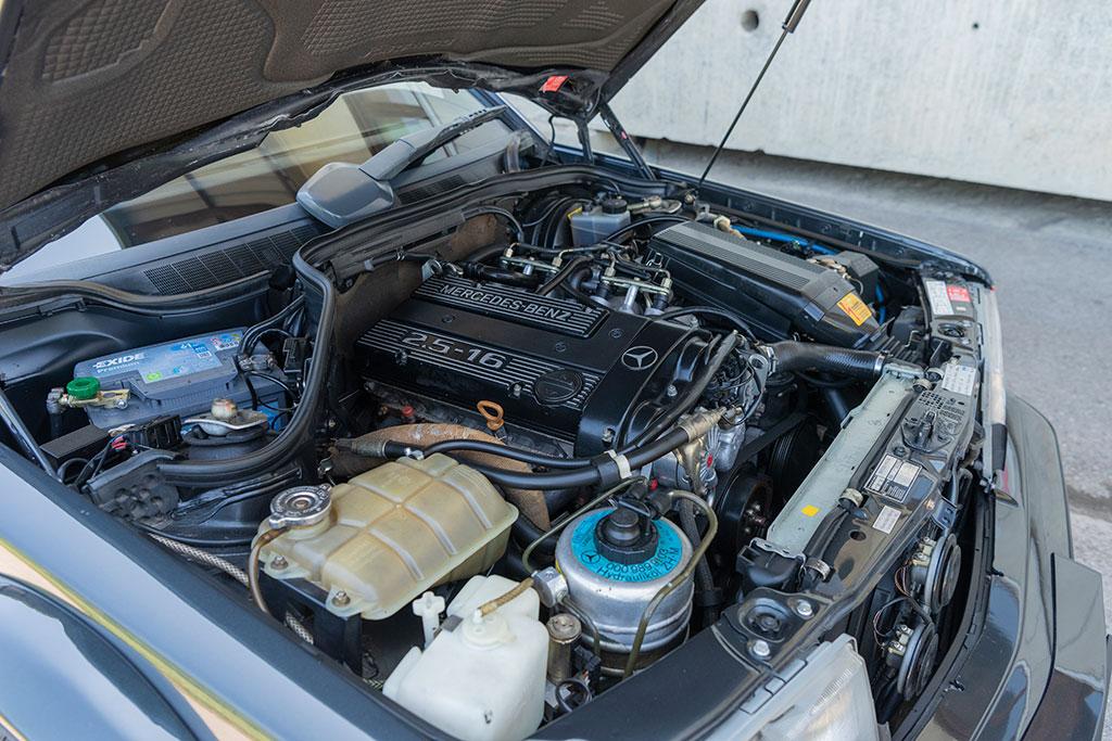 2.5-16 EVO II moteur développant 235 chevaux.
