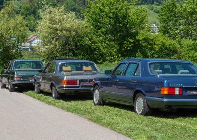Mercedes-Benz 300 SEL 6.3 W109 - 450 SEL 6.9 W116 - 560 SEL W126