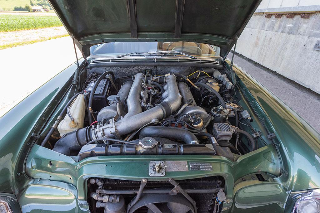Mercedes-Benz 300 SEL 6.3 W109 - Le moteur W100 hérité de la 600.