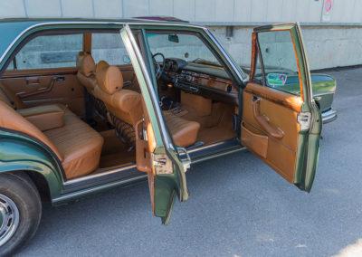 Mercedes-Benz 300 SEL 6.3 W109 - Accès facile grâce à une grande ouverture des portes.