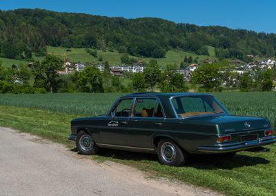 Mercedes-Benz 300 SEL 6.3 W109 - vue trois quarts arrière gauche