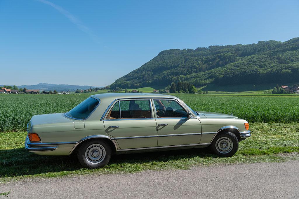 Mercedes-Benz 450 SEL 6.9 - Une ligne harmonieuse due à l'équipe dirigée par Friedrich Geiger.