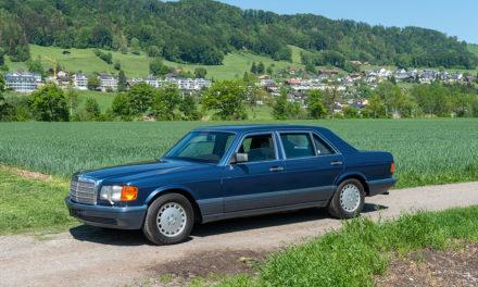 Mercedes-Benz 560 SEL | Une reine sans nul doute