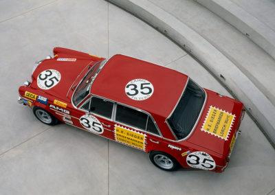 AMG Rote Sau 1971 AMG 300 SEL 6.8 victorieuse dans sa categorie.
