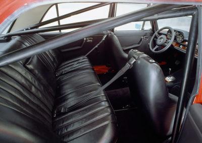 AMG Rote Sau 1971 AMG 300 SEL 6.8 arceau cage et ceintures circuit.