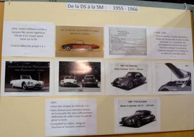 1955 Citroën SM - de la DS à la SM