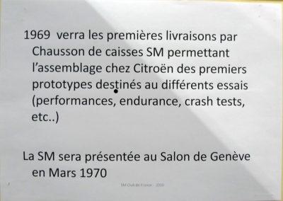 1969 Citroën SM caisses pour essais