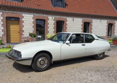 1971 Citroën SM modèle à carburateurs développant 170 chevaux