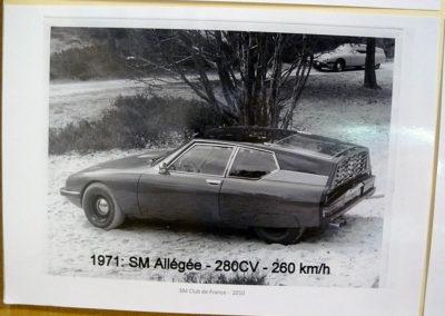 1971 Citroën SM Allégée 280 chevaux