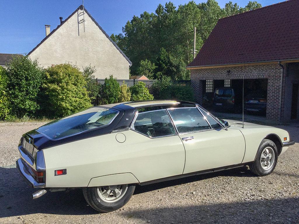 1971 Citroën SM Heuliez seulement 2 exemplaires