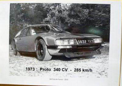 1973 Citroën SM Prototype 340 chevaux