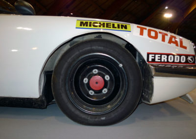 Citroën SM Chassueil Migault pneus Michelin Racing TB 5.