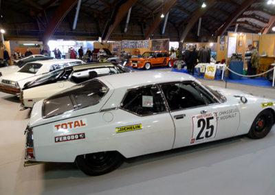 Citroën SM Chassueil Migault vue latérale côté droit