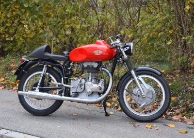 1956 Gilera 500 Saturno Piuma - The Swiss Auctioneers - 17 octobre 2020