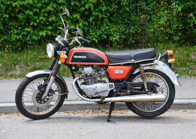 1975 Honda CB 200 - The Swiss Auctioneers - 17 octobre 2020