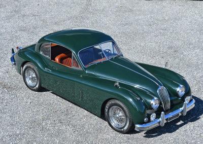 1956 Jaguar XK 140 FHC - The Swiss Auctioneers - 17 octobre 2020