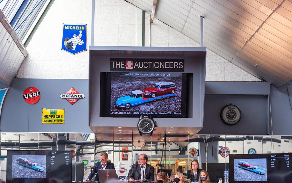 The Swiss Auctioneers | Retour du public à Oldtimer Galerie