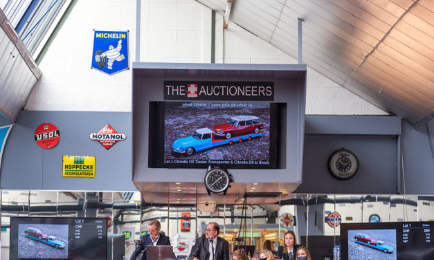 The Swiss Auctioneers | Retour du public à Oldtimer Galerie