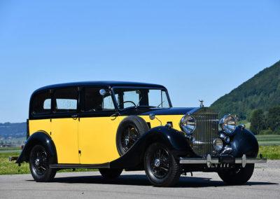 1939 Rolls-Royce Wraith 4-door Limousine - The Swiss Auctioneers - 17 octobre 2020