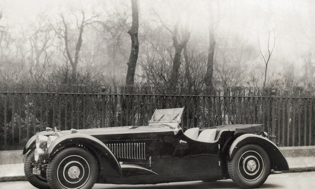 Une Bugatti 57S réapparaît à la vente aux enchères The Legends of the Road
