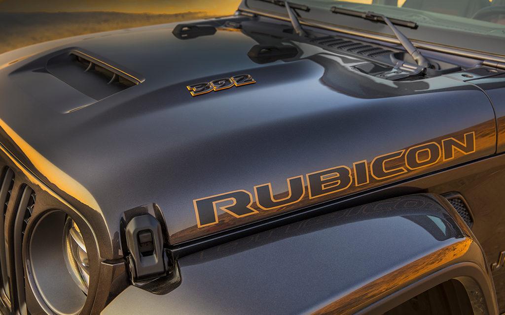 Wrangler Rubicon 392 | Doté d'un V8 qui crache du feu