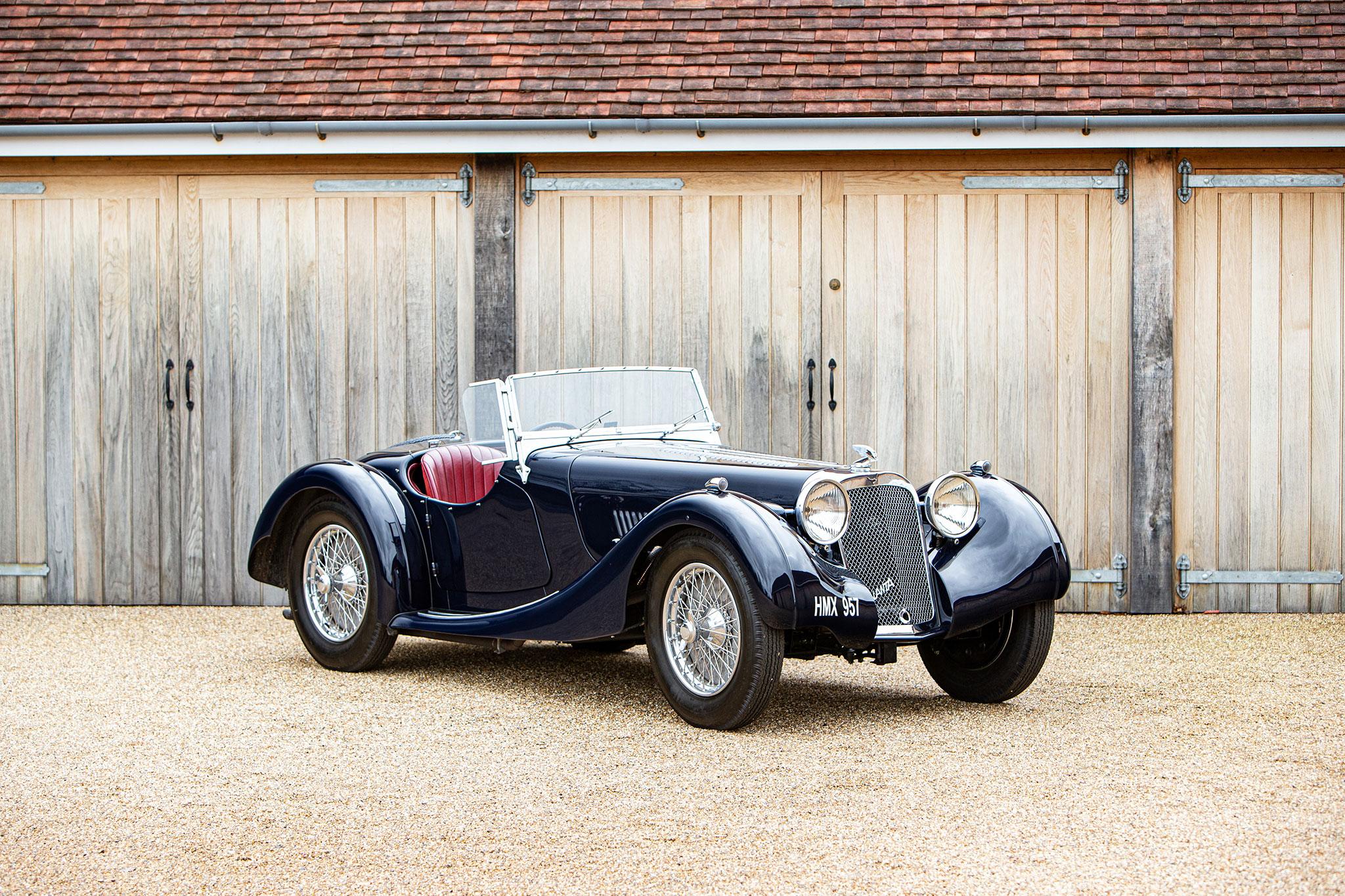 1937 Atalanta 2-Litre Sports 1939 Ex Midge Wilby Scottish RAC Rally - Bonhams Bond Street Sale
