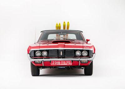 1969 Mercury Cougar XR7 face avant - Bonhams Bond Street Sale