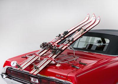 1969 Mercury Cougar XR7 skis Kneissl White Star- Bonhams Bond Street Sale