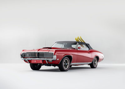 1969 Mercury Cougar XR7 trois quart avant gauche - Bonhams Bond Street Sale