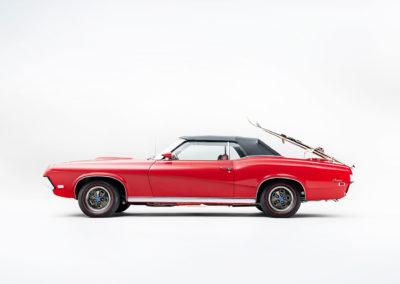 1969 Mercury Cougar XR7 vue latérale côté gauche - Bonhams Bond Street Sale