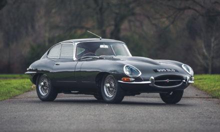 Un trio de Jaguar Type E parmi les Oldtimers à Silverstone Auctions