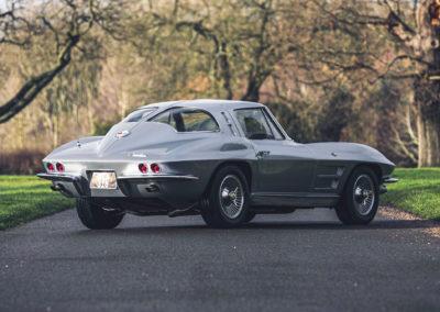 1963 Chevrolet Corvette C2 Split-Window vue trois quarts arrière droit