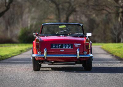 1968 Triumph TR5 vue arrière