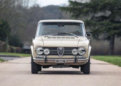 1972 Alfa Romeo Giulia Super 1.3 face avant