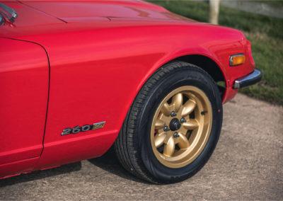 1979 Datsun 260 Z jante alliage Minilite 7x15