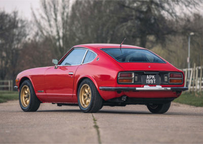 1979 Datsun 260 Z trois quarts arrière gauche