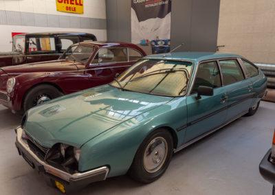1981 Citroën CX Diesel Limousine vue trois quarts avant gauche.