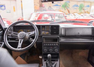 1990 Lancia Delta HF Integrale tableau de bord.