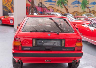 1990 Lancia Delta HF Integrale vue arrière.