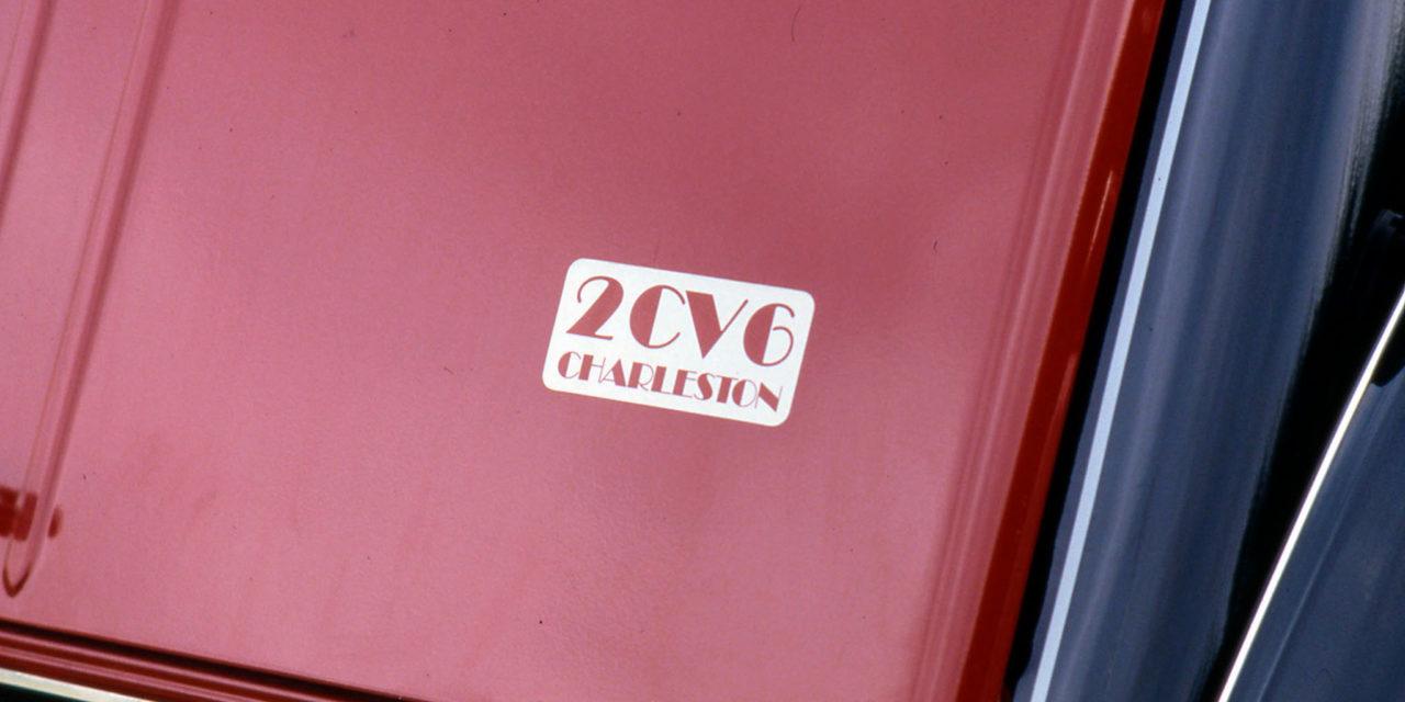 Un succès de 40 ans pour la 2CV Charleston