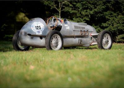 1947 Cisitalia D 46 châssis tubulaire extrêmement rigide.