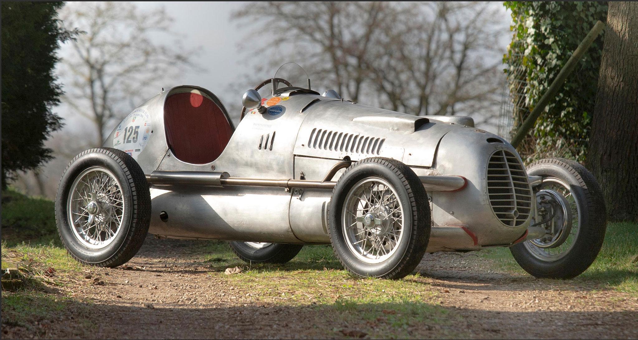 1947 Cisitalia D 46 elle est restée pendant 40 ans chez Paul Swaelens en Blegique - The Monaco Sale.