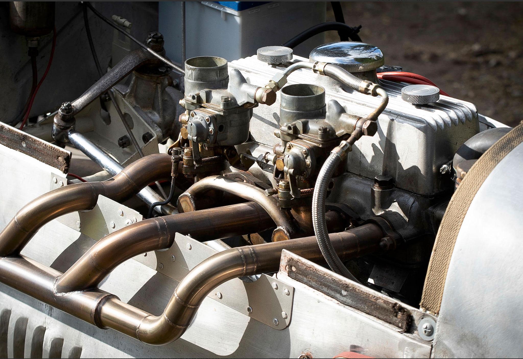 1947 Cisitalia D 46 le moteur actuel est un Fiat 1100B préparé.