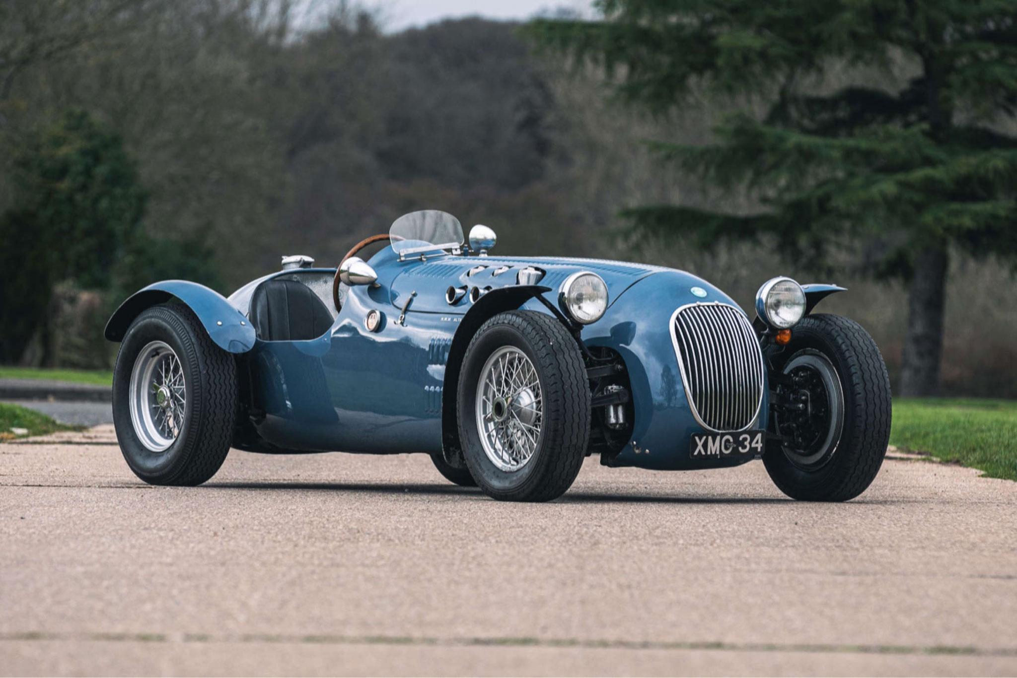1950 HWM Alta Jaguar - £515,500 - Silverstone Auction mars 2021.