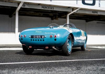1950 Simca Estager Barquette conception simple et légère.
